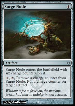 Surge Node, New Phyrexia, Magic the Gathering