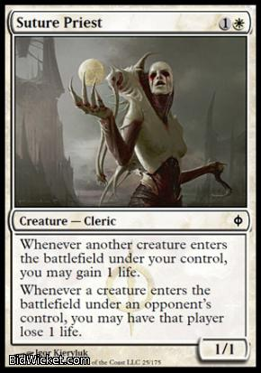 Suture Priest, New Phyrexia, Magic the Gathering