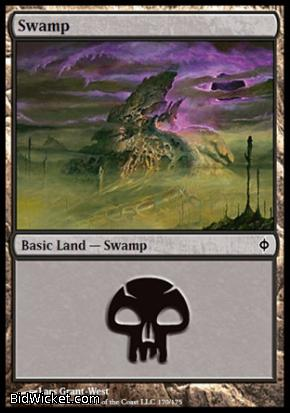 Swamp (170), New Phyrexia, Magic the Gathering