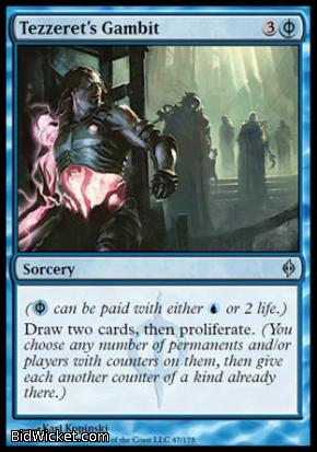 Tezzeret's Gambit, New Phyrexia, Magic the Gathering