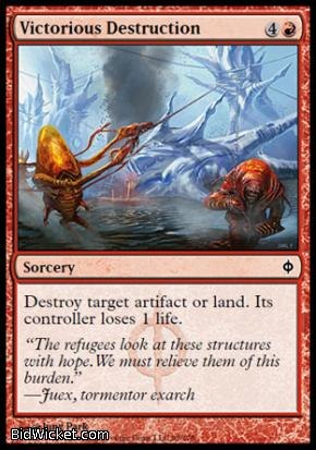 Victorious Destruction, New Phyrexia, Magic the Gathering
