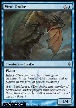 Viral Drake, New Phyrexia, Magic the Gathering