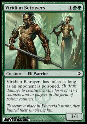 Viridian Betrayers, New Phyrexia, Magic the Gathering