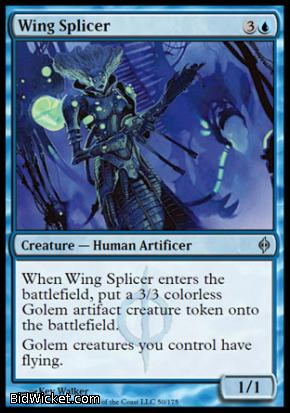 Wing Splicer, New Phyrexia, Magic the Gathering