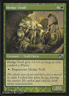 Hedge Troll, Planar Chaos, Magic the Gathering
