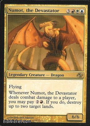 Numot, the Devastator, Planar Chaos, Magic the Gathering