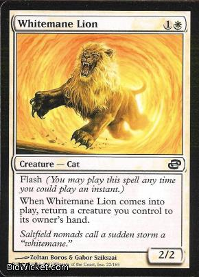 Whitemane Lion, Planar Chaos, Magic the Gathering