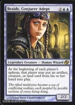 Braids, Conjurer Adept, Planar Chaos, Magic the Gathering