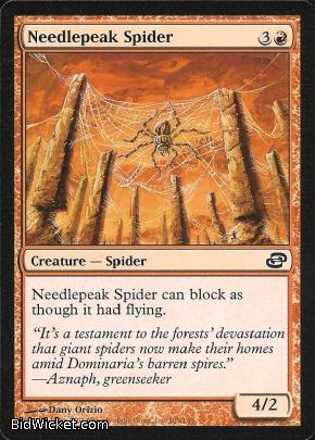 Needlepeak Spider, Planar Chaos, Magic the Gathering