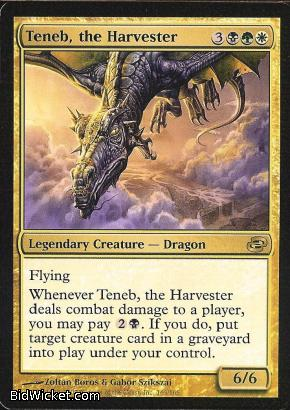 Teneb, the Harvester, Planar Chaos, Magic the Gathering