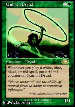 Quirion Dryad, Planeshift, Magic the Gathering