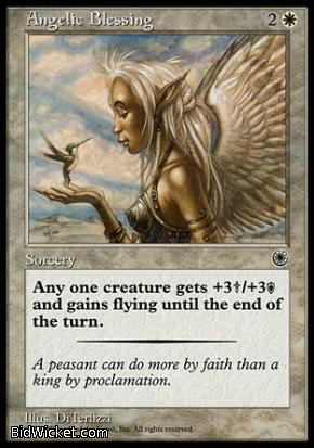 Angelic Blessing, Portal, Magic the Gathering