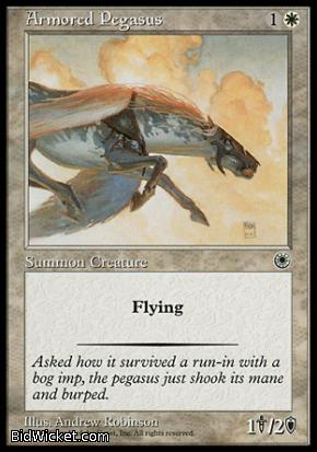 Armored Pegasus, Portal, Magic the Gathering