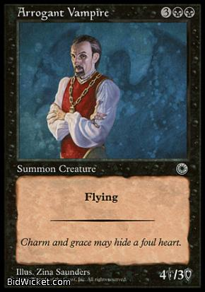 Arrogant Vampire, Portal, Magic the Gathering