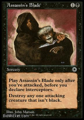 Assassin's Blade, Portal, Magic the Gathering
