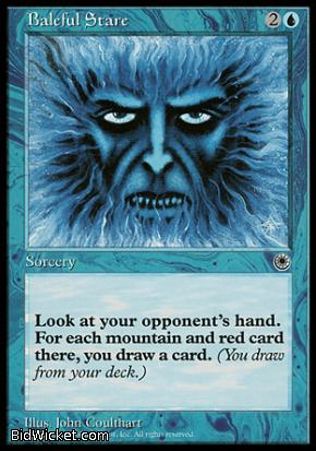 Baleful Stare, Portal, Magic the Gathering