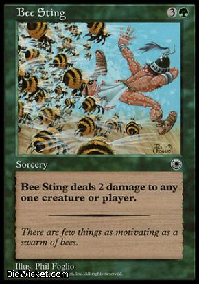 Bee Sting, Portal, Magic the Gathering