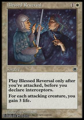 Blessed Reversal, Portal, Magic the Gathering