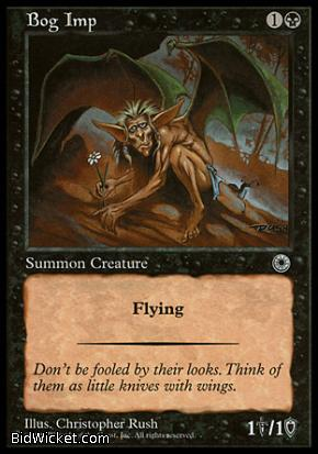Bog Imp, Portal, Magic the Gathering