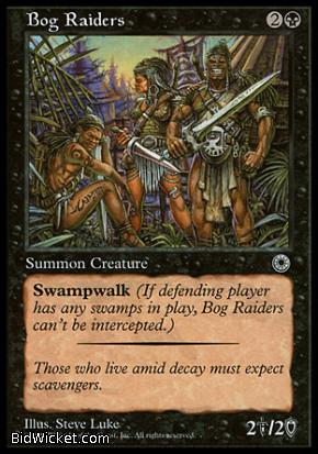 Bog Raiders, Portal, Magic the Gathering