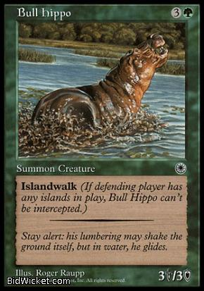 Bull Hippo, Portal, Magic the Gathering