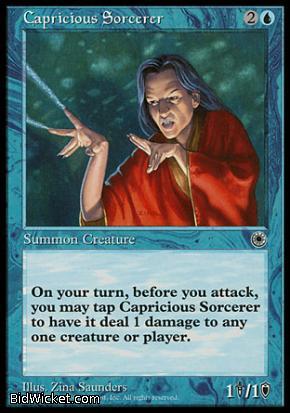 Capricious Sorcerer, Portal, Magic the Gathering