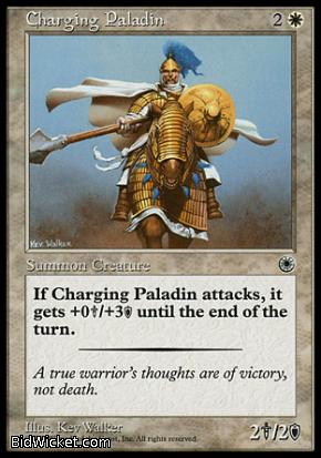 Charging Paladin, Portal, Magic the Gathering