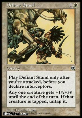 Defiant Stand, Portal, Magic the Gathering