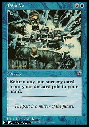 Deja Vu, Portal, Magic the Gathering