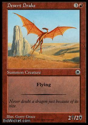 Desert Drake, Portal, Magic the Gathering