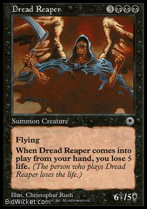 Dread Reaper, Portal, Magic the Gathering