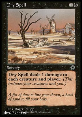 Dry Spell, Portal, Magic the Gathering