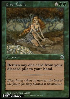 Elven Cache, Portal, Magic the Gathering