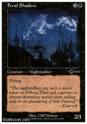 Feral Shadow, Portal, Magic the Gathering