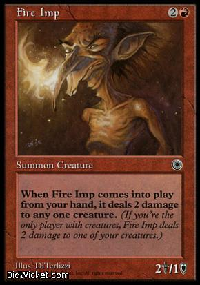Fire Imp, Portal, Magic the Gathering