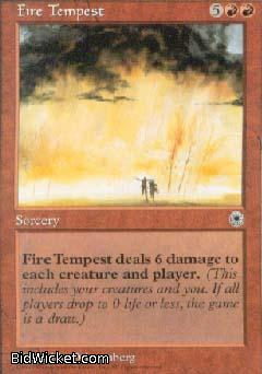 Fire Tempest, Portal, Magic the Gathering