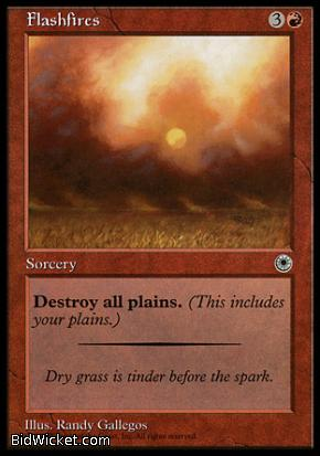 Flashfires, Portal, Magic the Gathering
