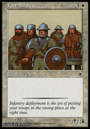 Foot Soldiers, Portal, Magic the Gathering