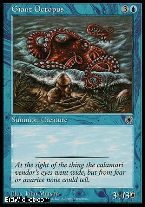 Giant Octopus, Portal, Magic the Gathering