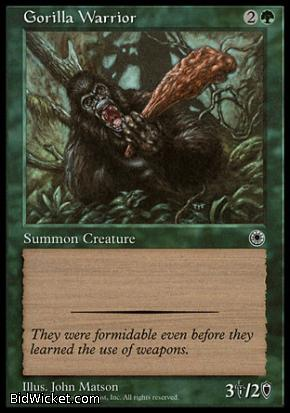 Gorilla Warrior, Portal, Magic the Gathering