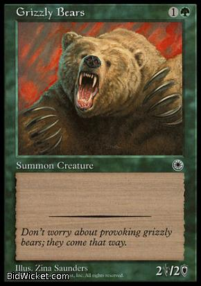 Grizzly Bears, Portal, Magic the Gathering