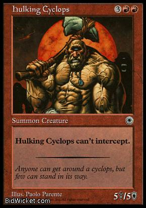 Hulking Cyclops, Portal, Magic the Gathering