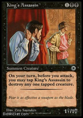 King's Assassin, Portal, Magic the Gathering