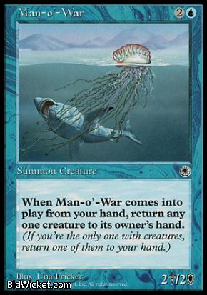 Man-o'-War, Portal, Magic the Gathering