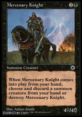 Mercenary Knight, Portal, Magic the Gathering