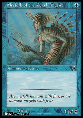 Merfolk of the Pearl Trident, Portal, Magic the Gathering