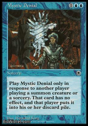Mystic Denial, Portal, Magic the Gathering