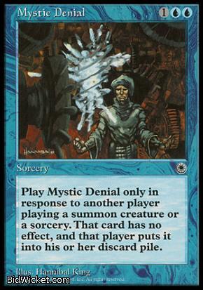 Mystic Denial, Portal, Magic the Gathering