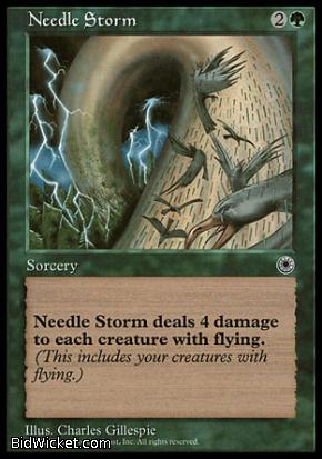 Needle Storm, Portal, Magic the Gathering