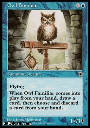 Owl Familiar, Portal, Magic the Gathering